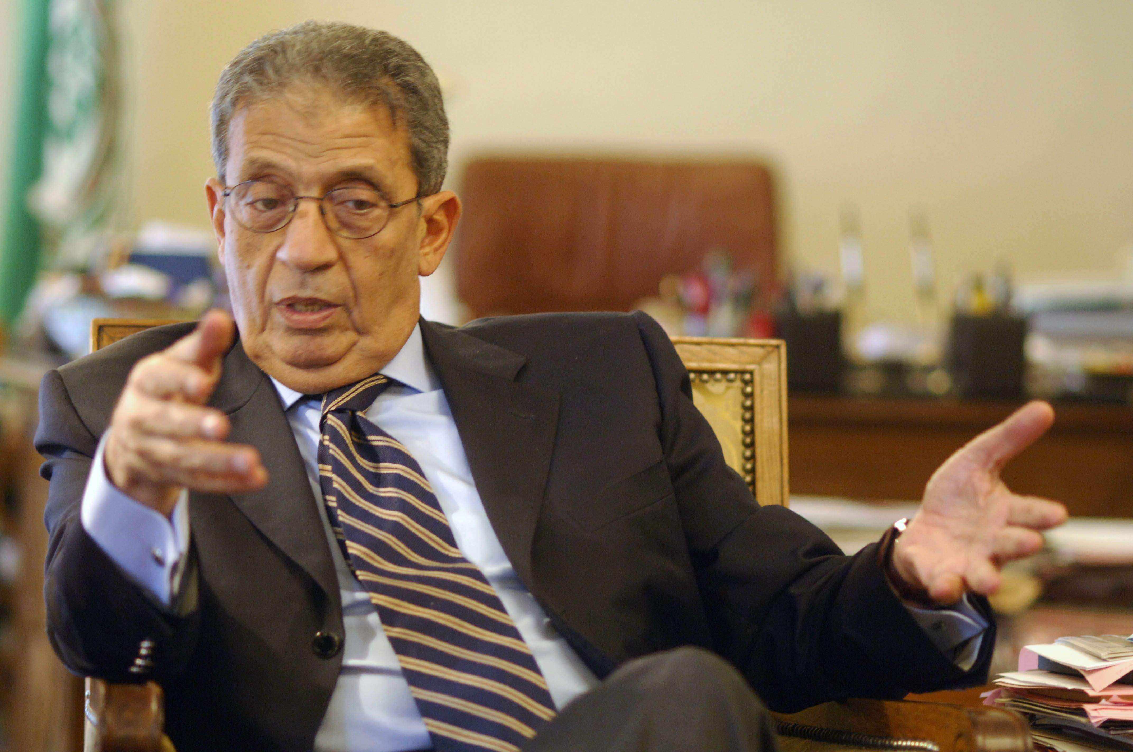 """عمرو موسي يدافع عن مذكراته: ماكتبته حول عبدالناصر """"صحيح"""""""