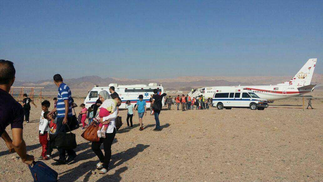 """انحراف طائرة أردنية عن مسارها.. والأضرار """"محدودة"""""""