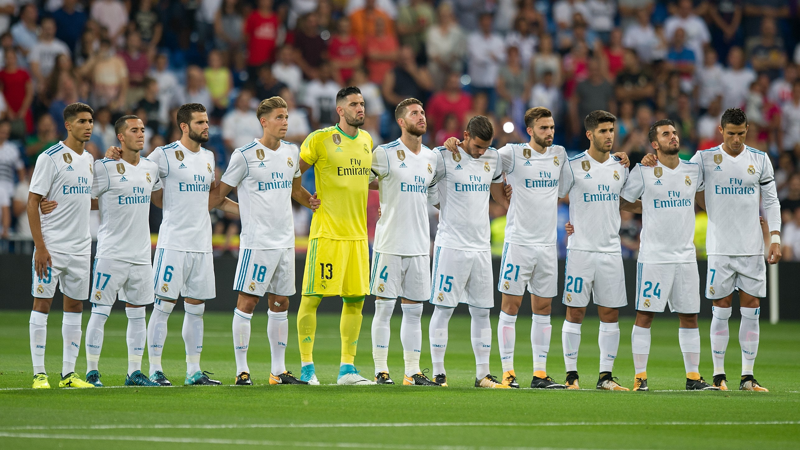 ريال مدريد يخسر 6 لاعبين مؤثرين ضد ريال سوسيداد