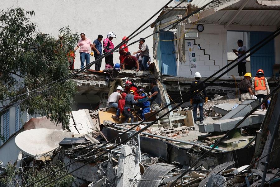 230 قتيلا حصيلة قتلى زلزال المكسيك