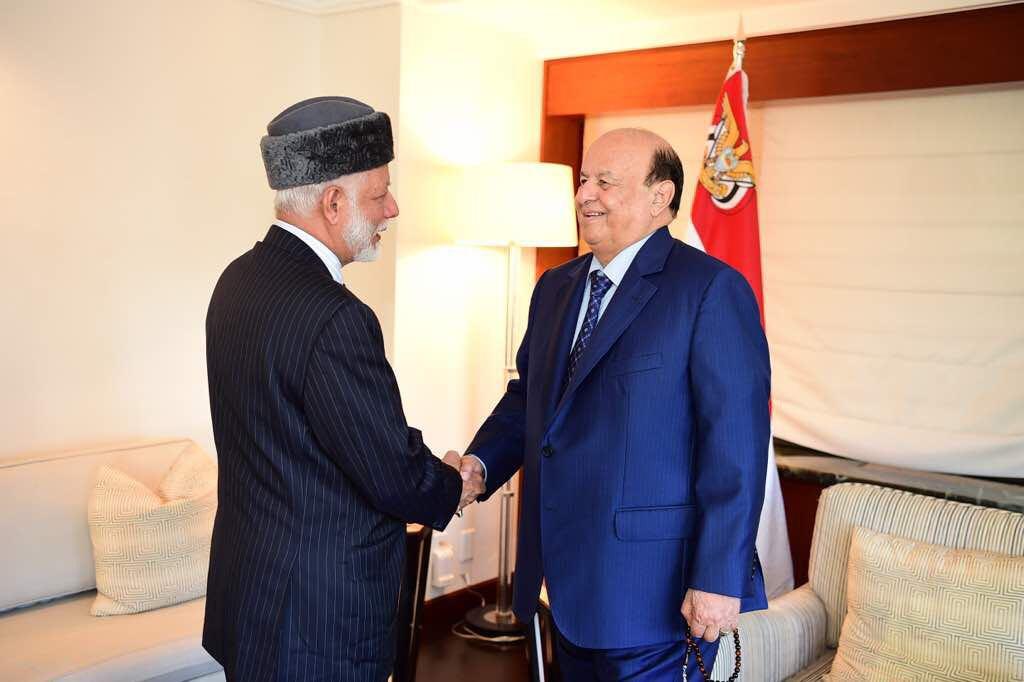 الرئيس اليمني يستقبل الوزير المسؤول عن الشؤون الخارجية
