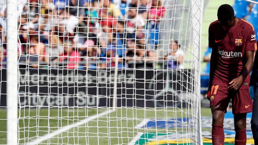 تسريب تفاصيل عقد انتقال ديمبلي إلى برشلونة