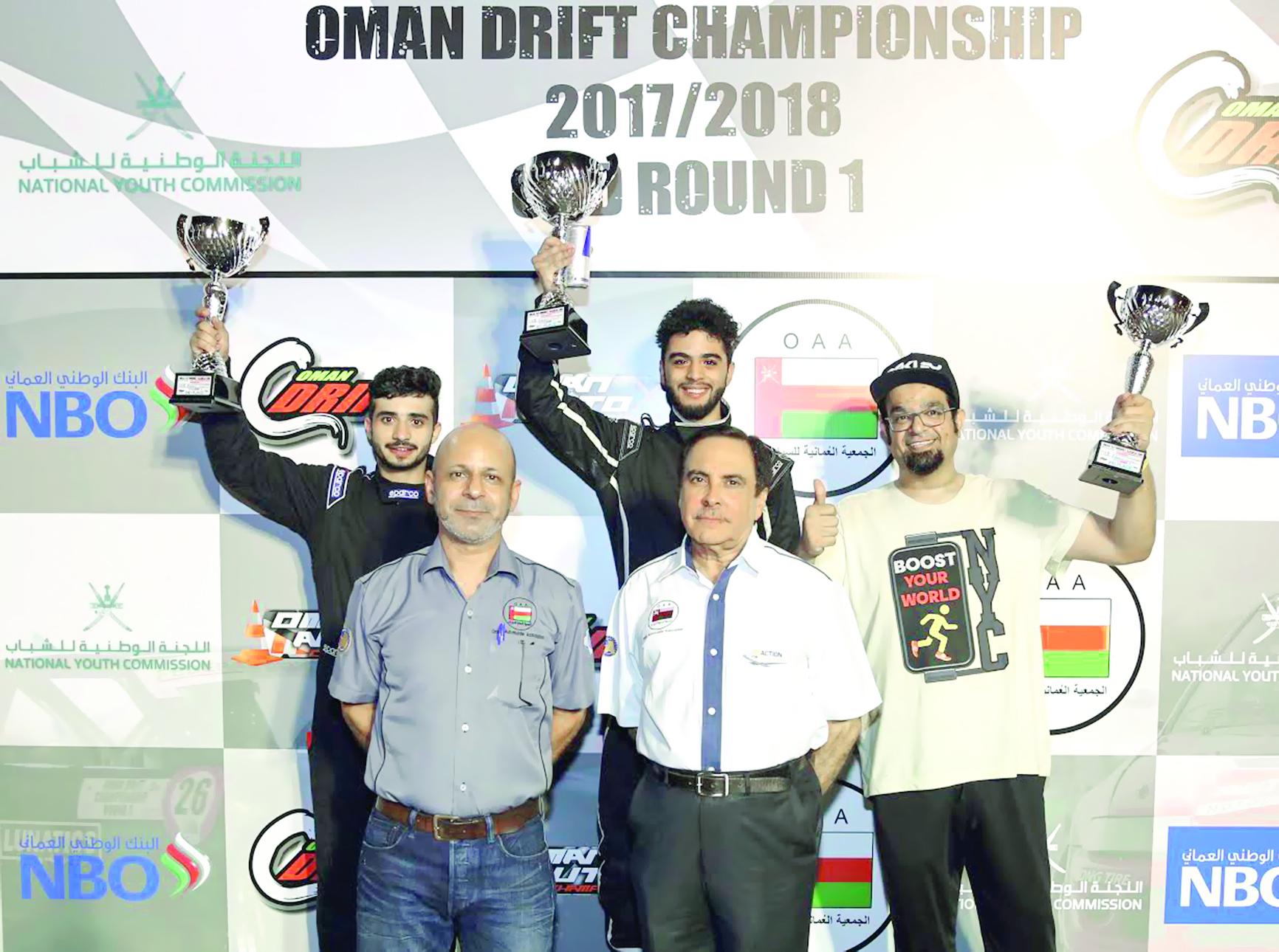 الحديدي ينتزع صدارة الجولة الأولى ببطولة عمان للانجراف