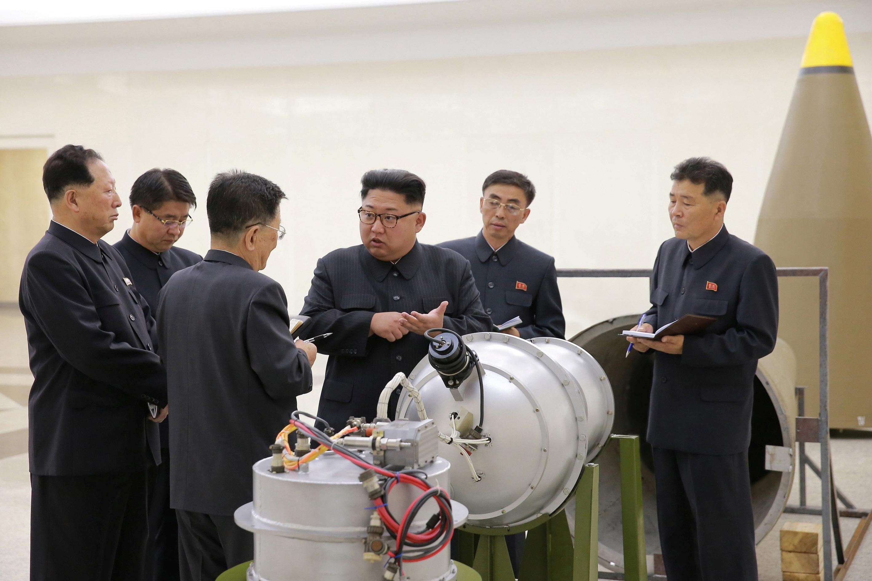 كوريا الشمالية تعلن امتلاكها رأسا حربية هيدروجينية