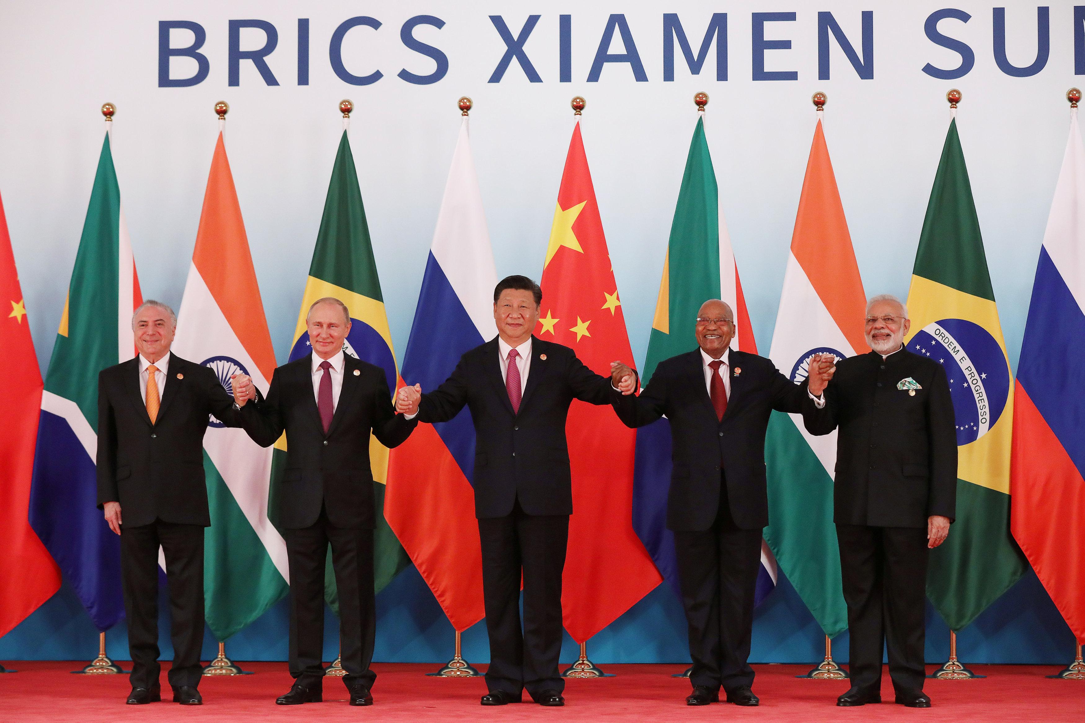 China to provide $76 million for BRICS economic initiative