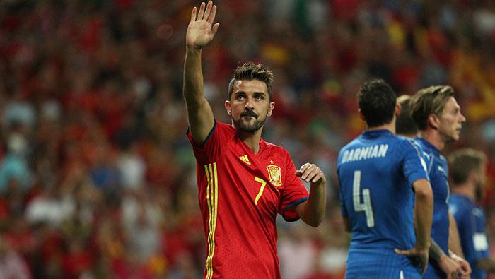 Football: Spain striker Villa ruled out of Liechtenstein game due to injury