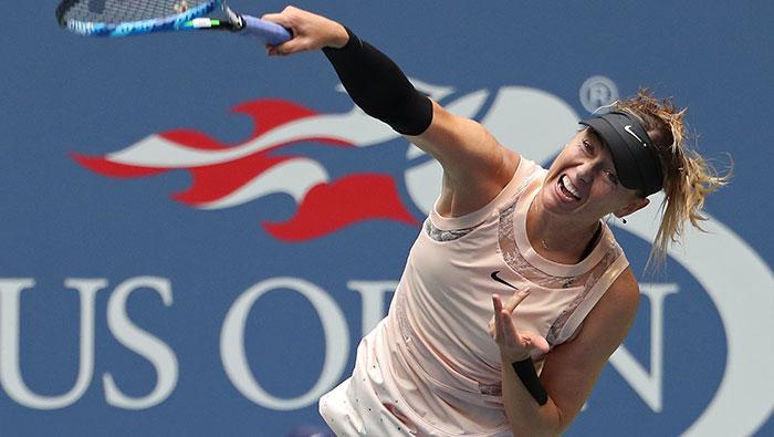 Tennis: Sharapova knocked out of U.S. Open fourth round