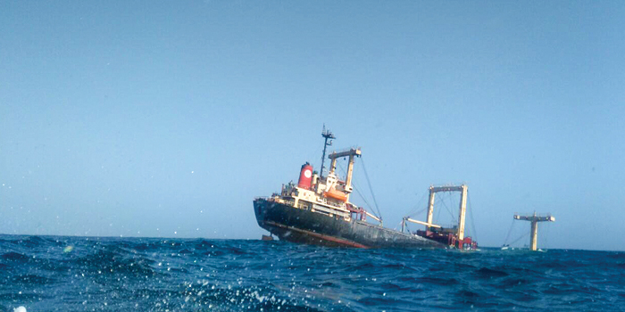 Brave rescue saves 20 lives after ship sinks off Oman coast