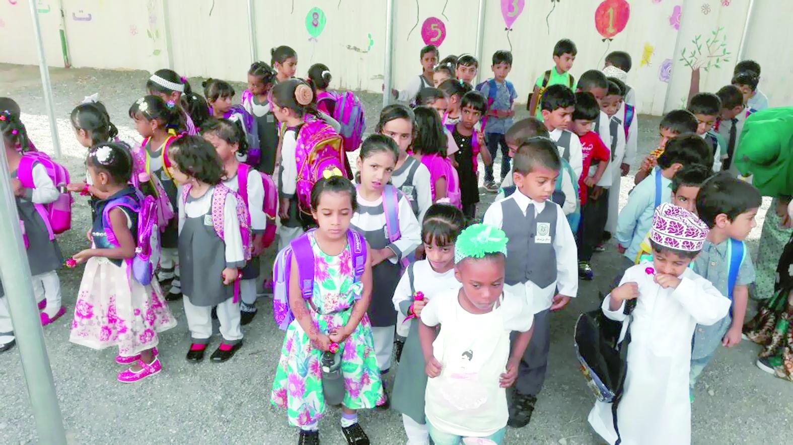 ركن الطفل بجمعية المرأة العمانية بالعوابي يستقبل 100 طفل وطفلة