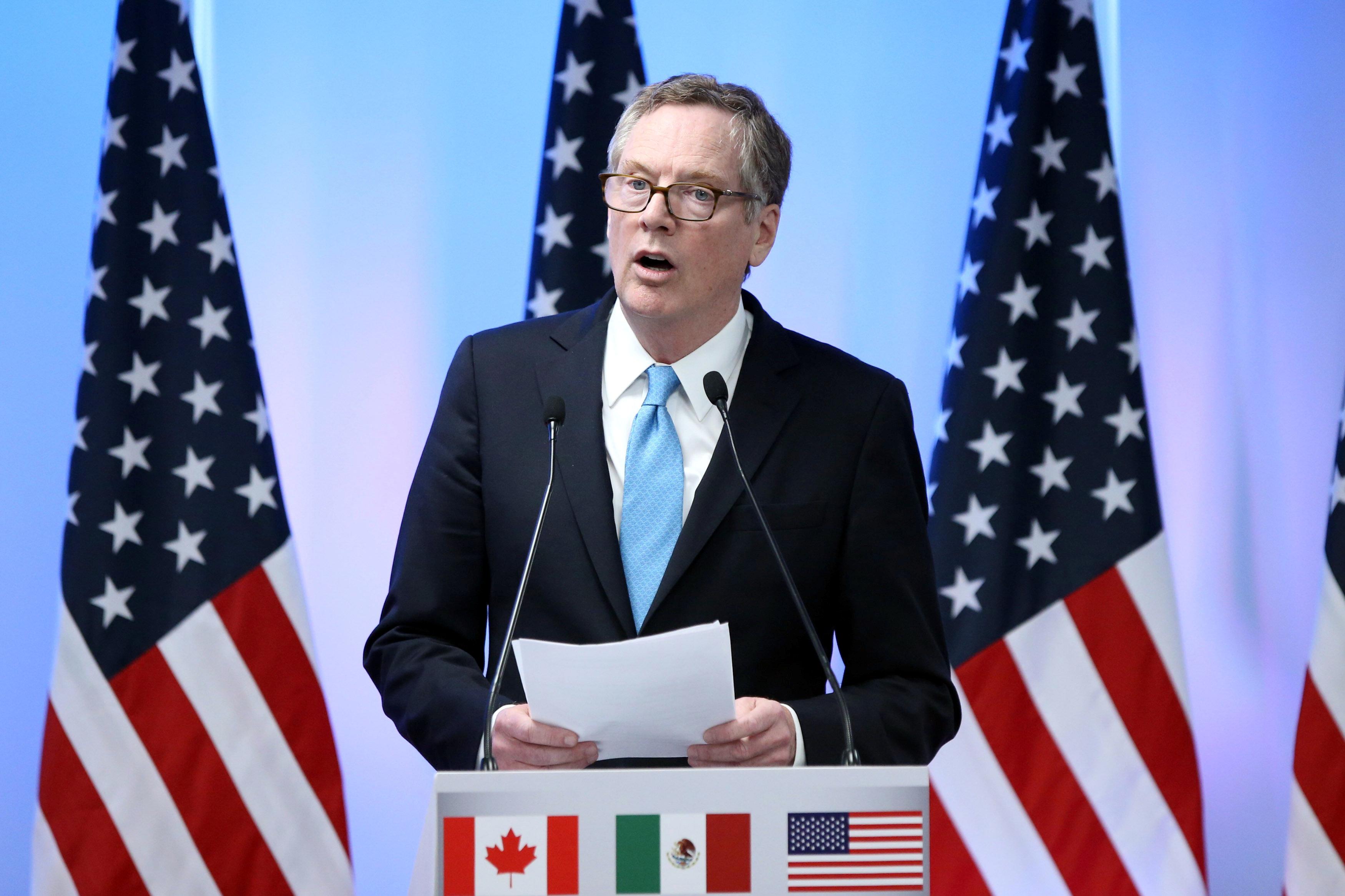 US Trade Representative keeps Trump's views in mind in Nafta talks