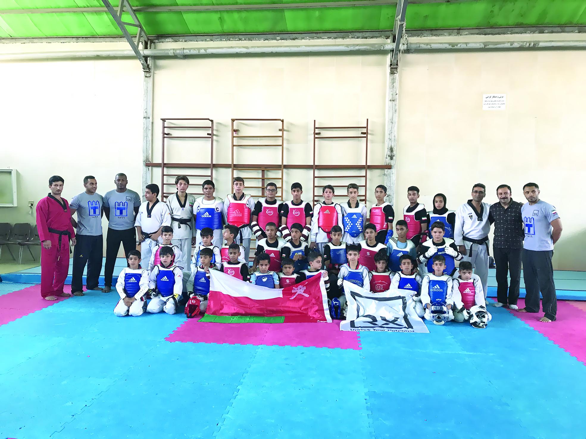 حصيلة جيّدة من الميداليات يحققها فريق «آر أكس» للتايكواندو في أصفهان