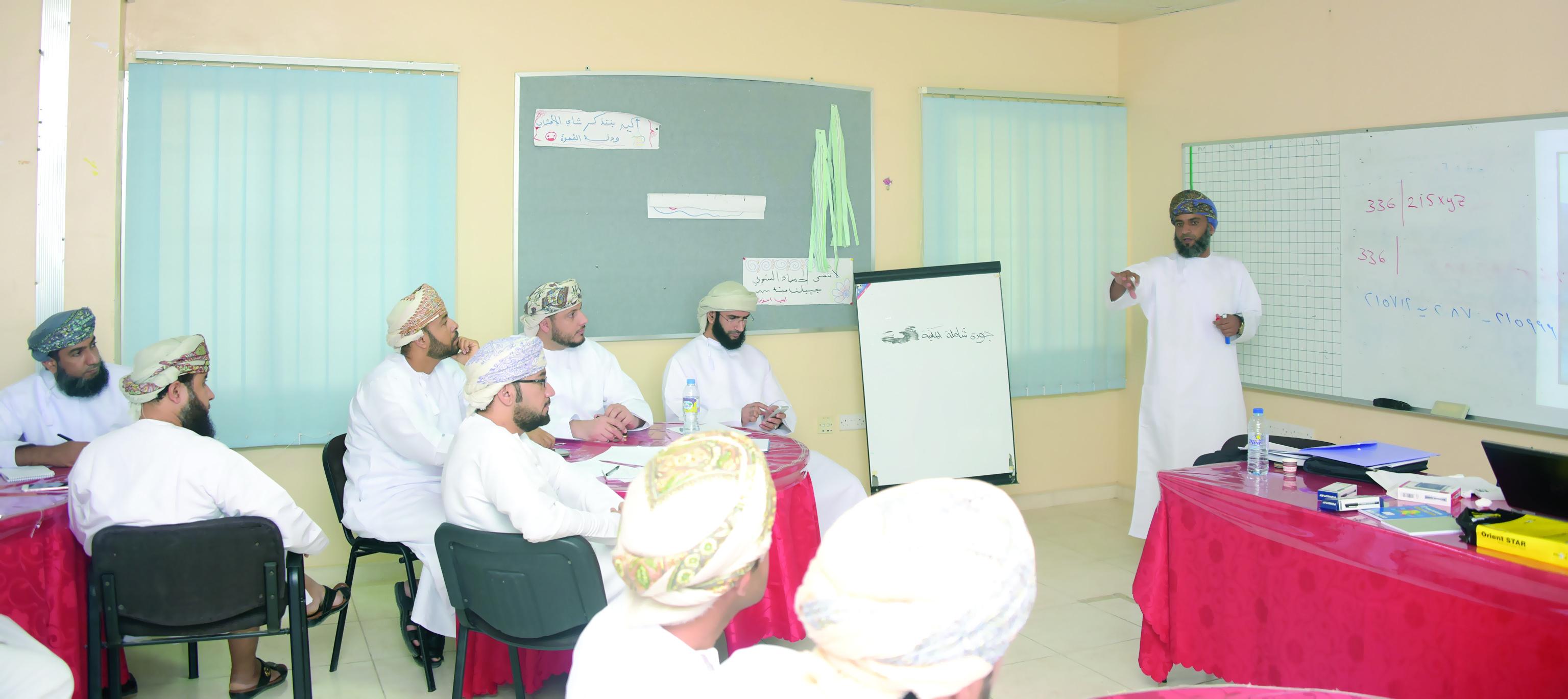 تعليمية شمال الباطنة تنفذ برنامج «أولمبياد الرياضيات» التدريبي
