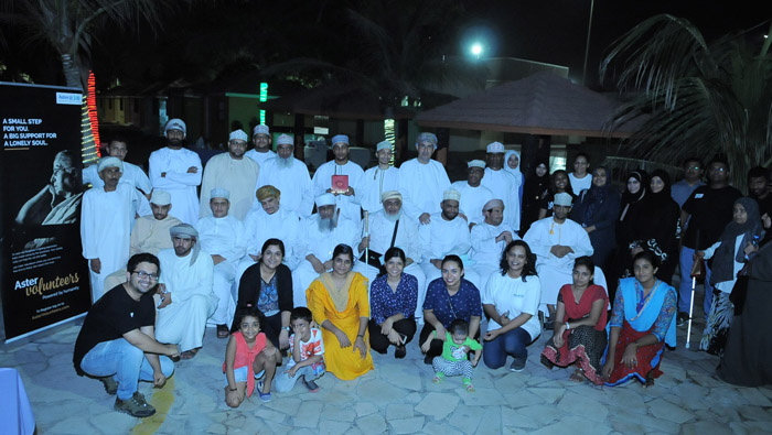 Aster conducts free medical check-up for Al Noor Association for the Blind