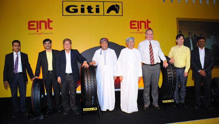 Eint Automotive introduces Giti tyres in Oman