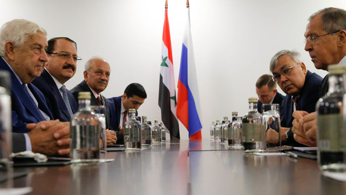 Russia says IS operates near U.S. base in Syria unhindered