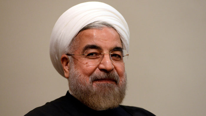 Iran president defends Guards in show of unity anticipating Trump
