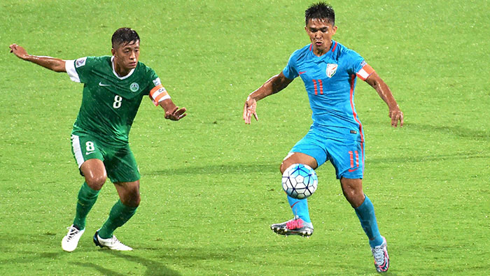 Football: India defeat Macau 4-1 to qualify for 2019 AFC Asian Cup