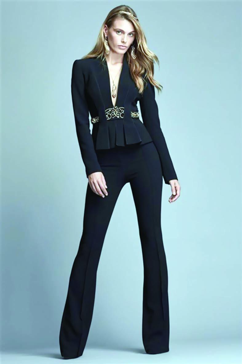 أزياء راقية للمرأة العملية من المصمم زهير مراد