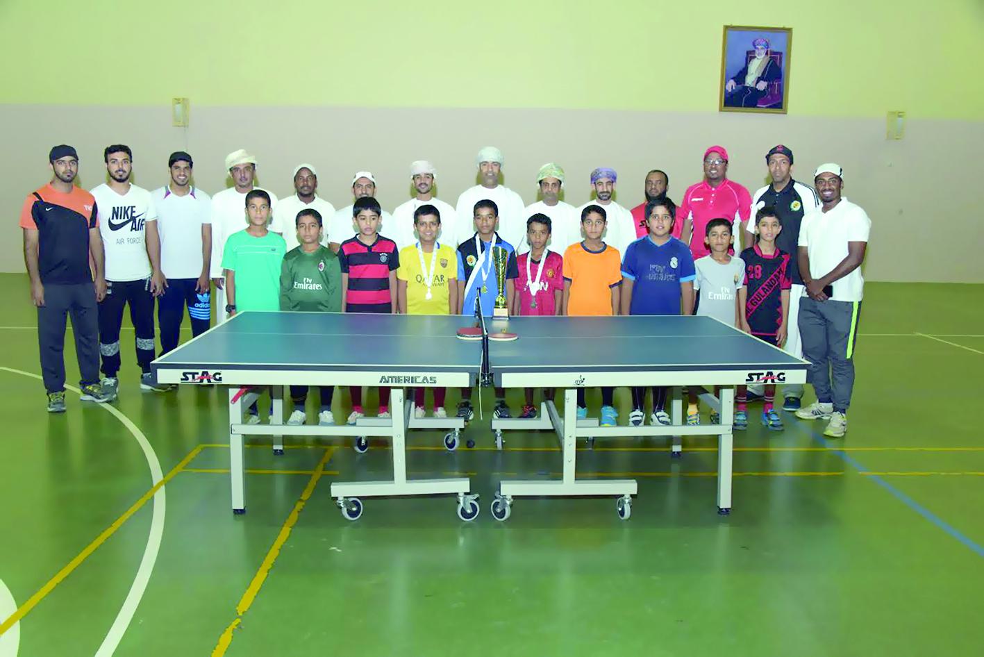 الغساني يخطف لقب بطولةستاج لكرة الطاولة بشمال الشرقية