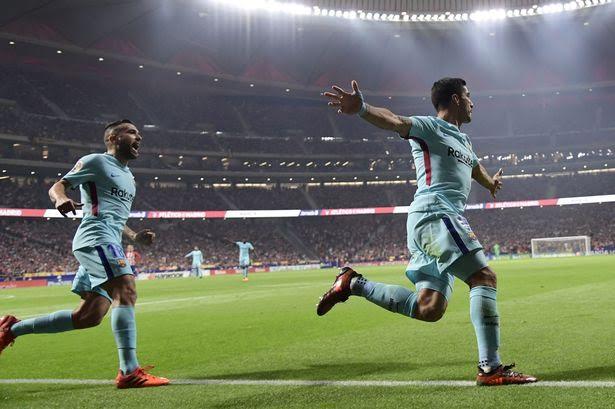 سواريز يُسكِت جماهير أتليتكو مدريد