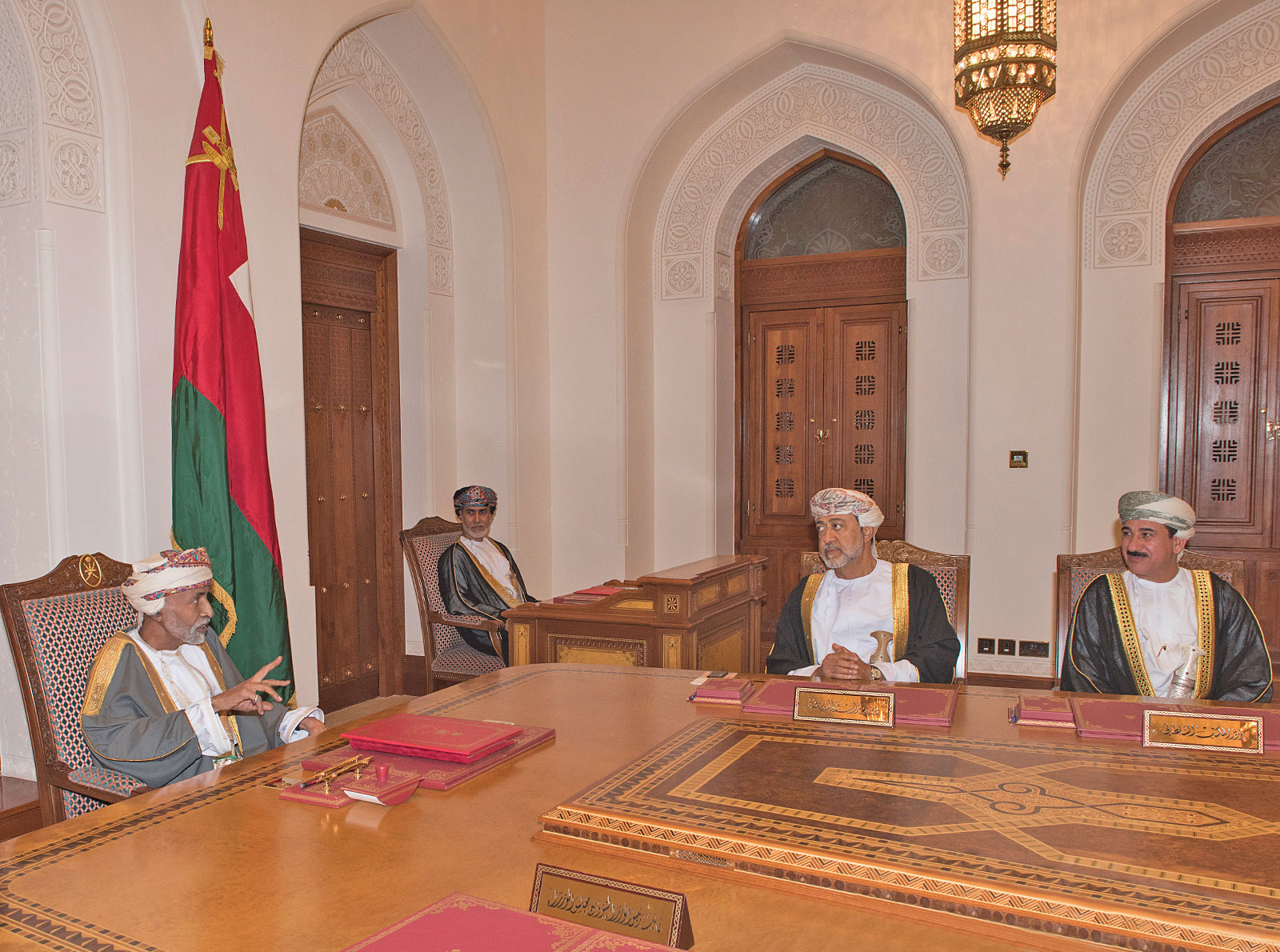 In pictures: Six ambassadors take oath before His Majesty