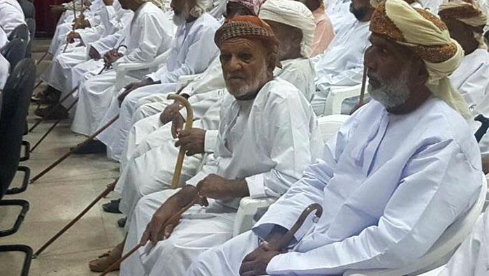 Yanqul celebrates International Day of the Elderly