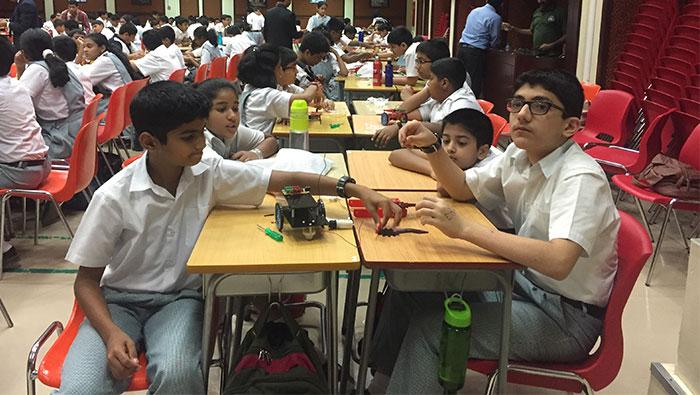 Indian School Al Ghubra hosts mobile robotics workshop