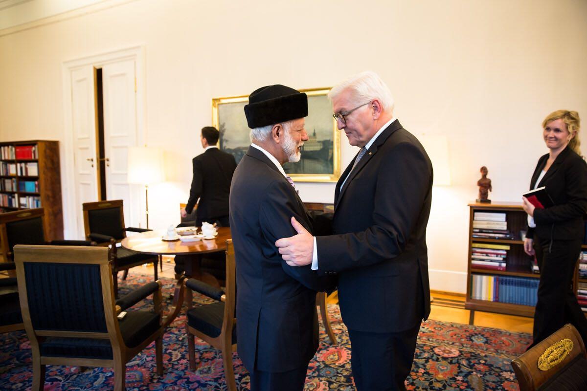 الرئيس الألماني يستقبل الوزير المسؤول عن الشؤون الخارجية