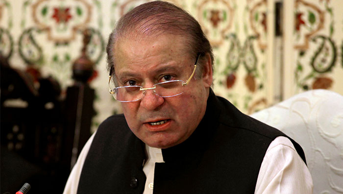Pakistani anti-corruption court indicts ousted PM Sharif