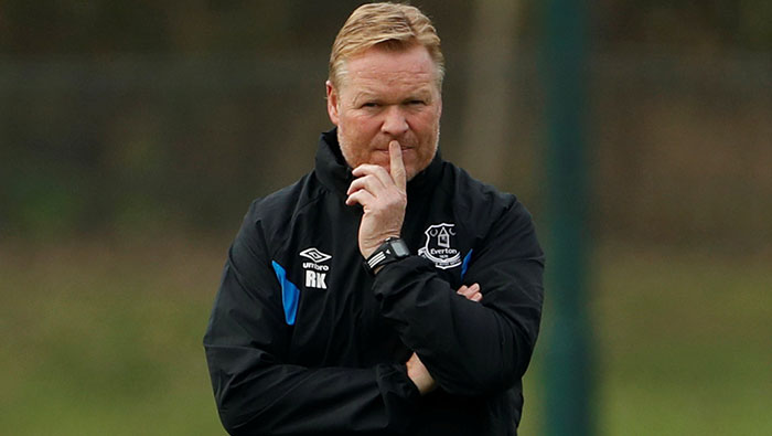 Football: Manager Koeman backed by Everton board despite poor start