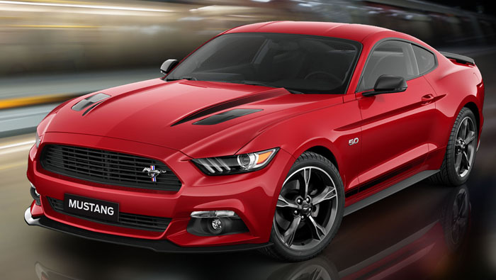 Ford Mustang: Coupe loaded with muscles