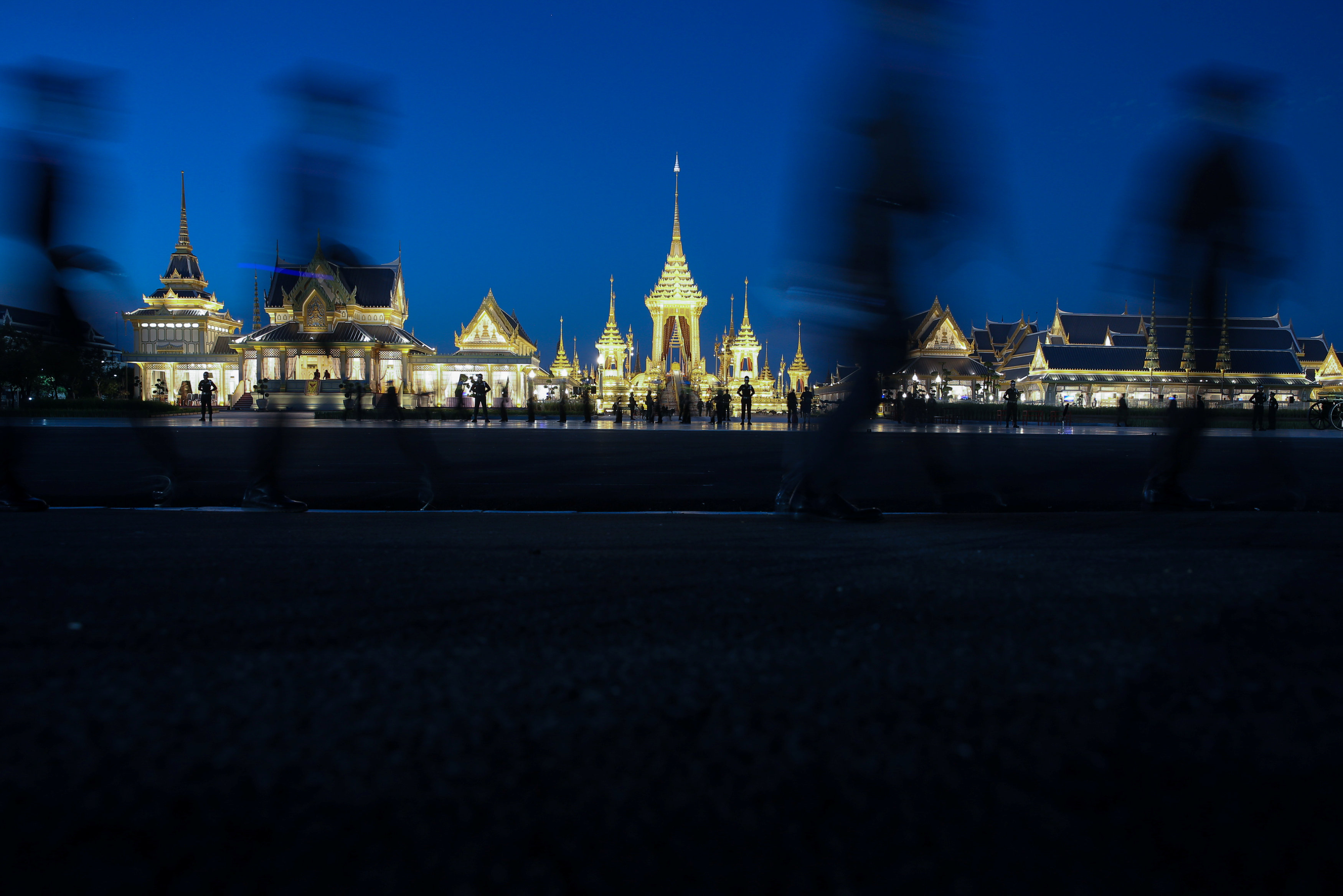 Thailand rehearses $90 million funeral for late late King Bhumibol Adulyadej