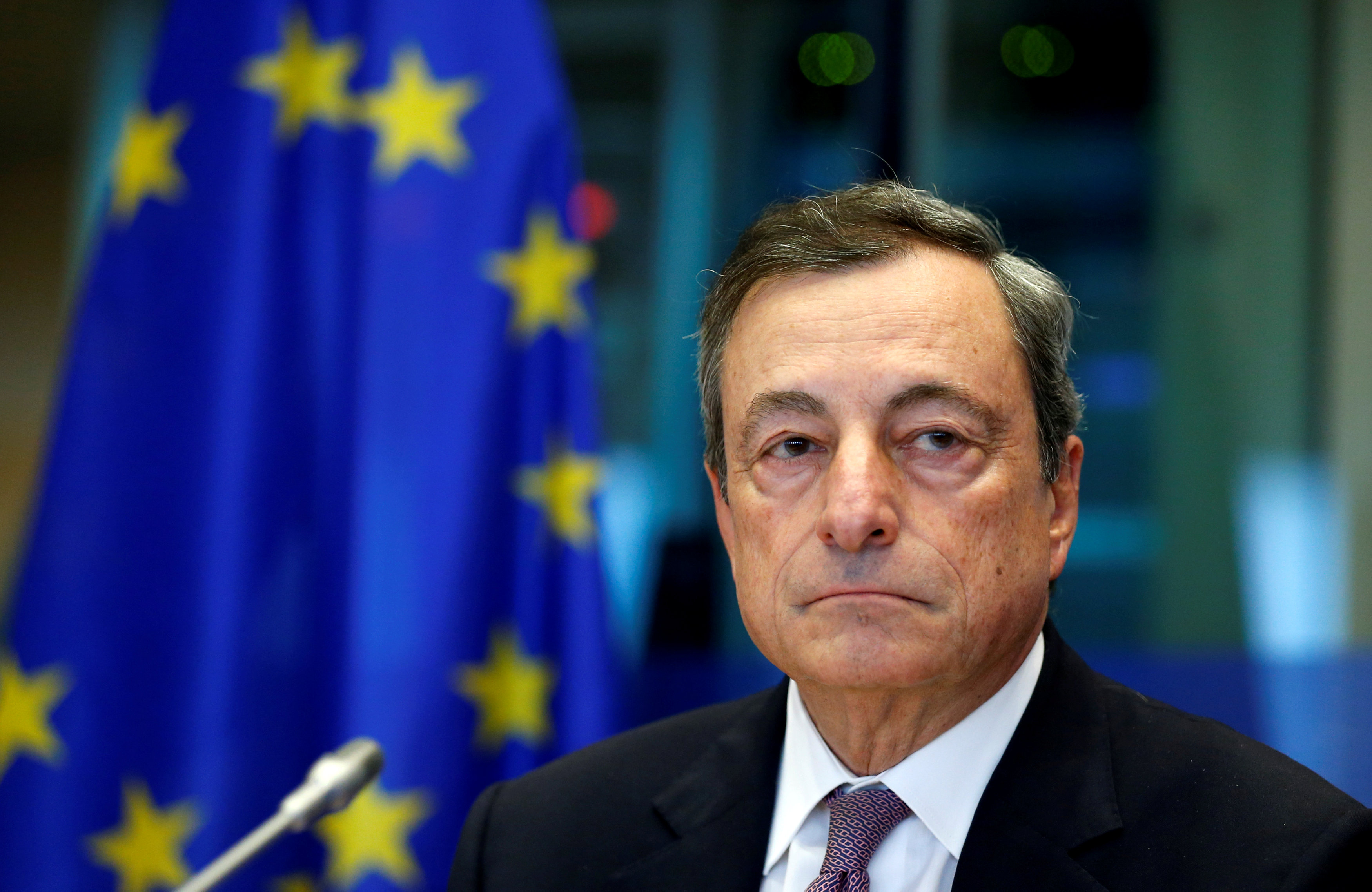 European Central Bank president is facing a tricky balancing act