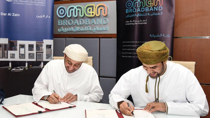Oman firms sign high-speed fiber-optic agreement