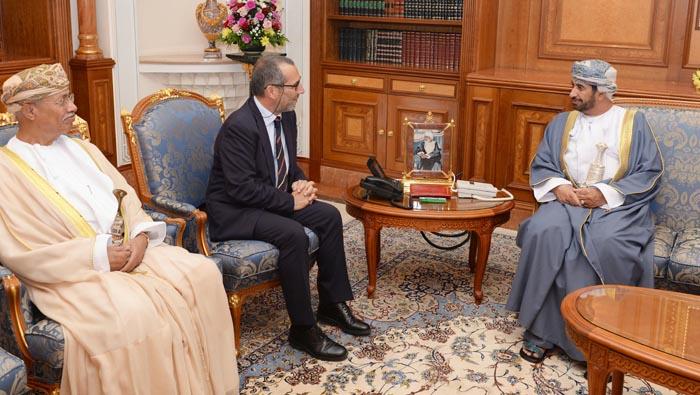 Oman's Diwan of Royal Court minister receives Pisa University president