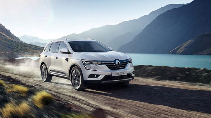 Renault Koleos achieves five-star Euro NCAP rating