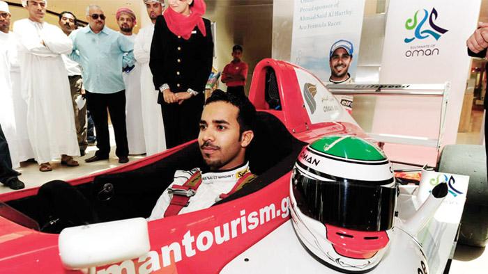 OmanPride: Ahmad Al Harthy, role model to Oman's aspiring racers