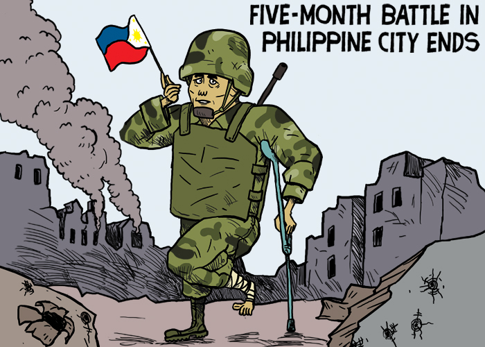 Five-month battle in Philippine city ends