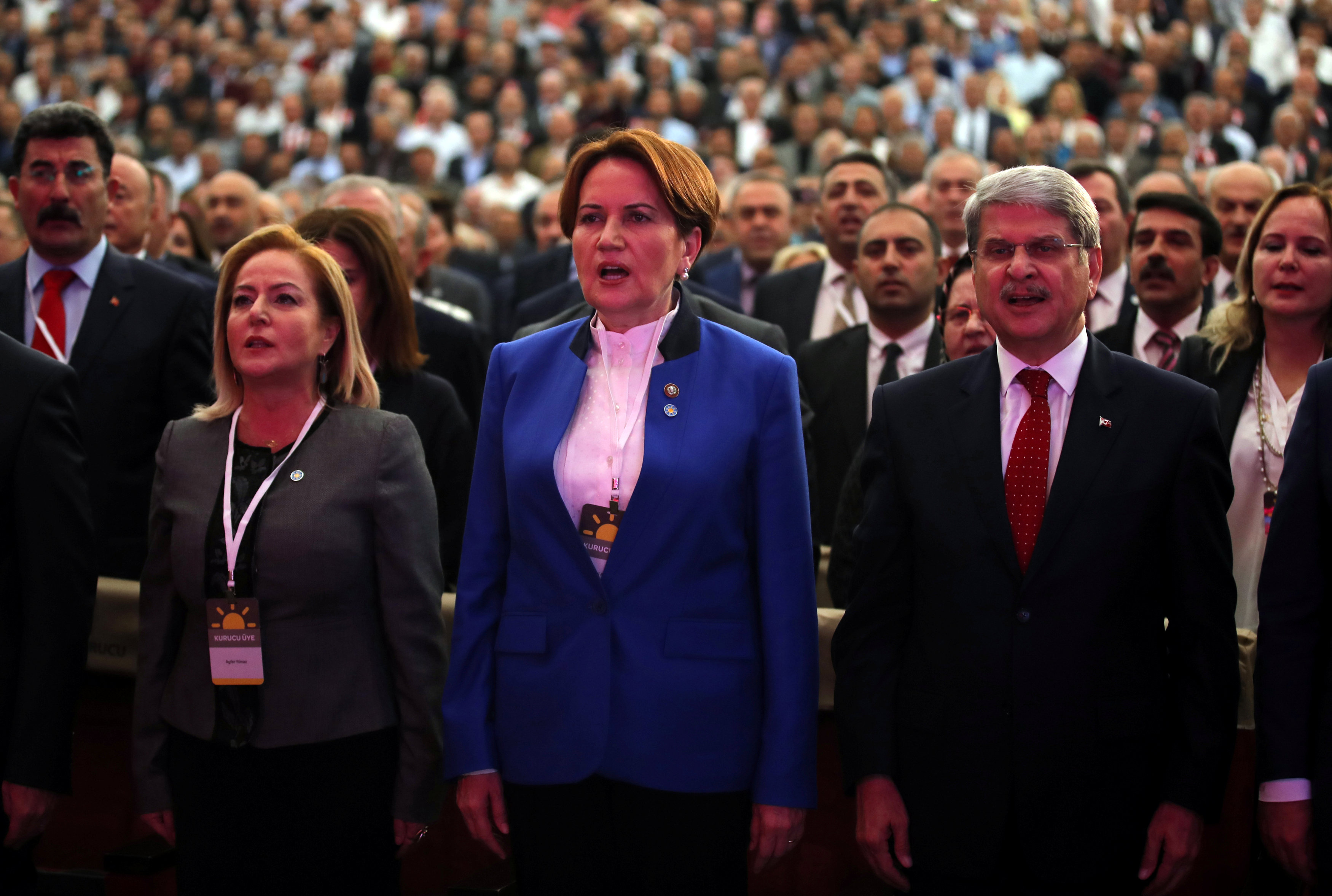 Former Turkish minister launches party to challenge Erdogan