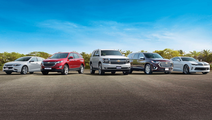 Be a record breaker with Chevrolet Middle East