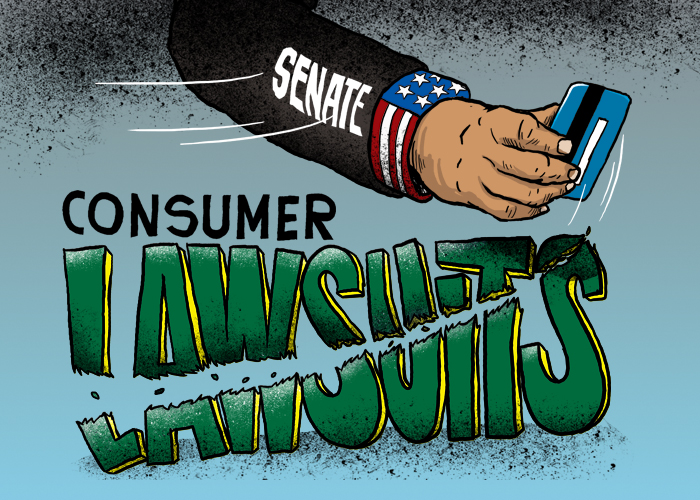 U.S. Senate votes to nullify rule allowing class action suits against banks