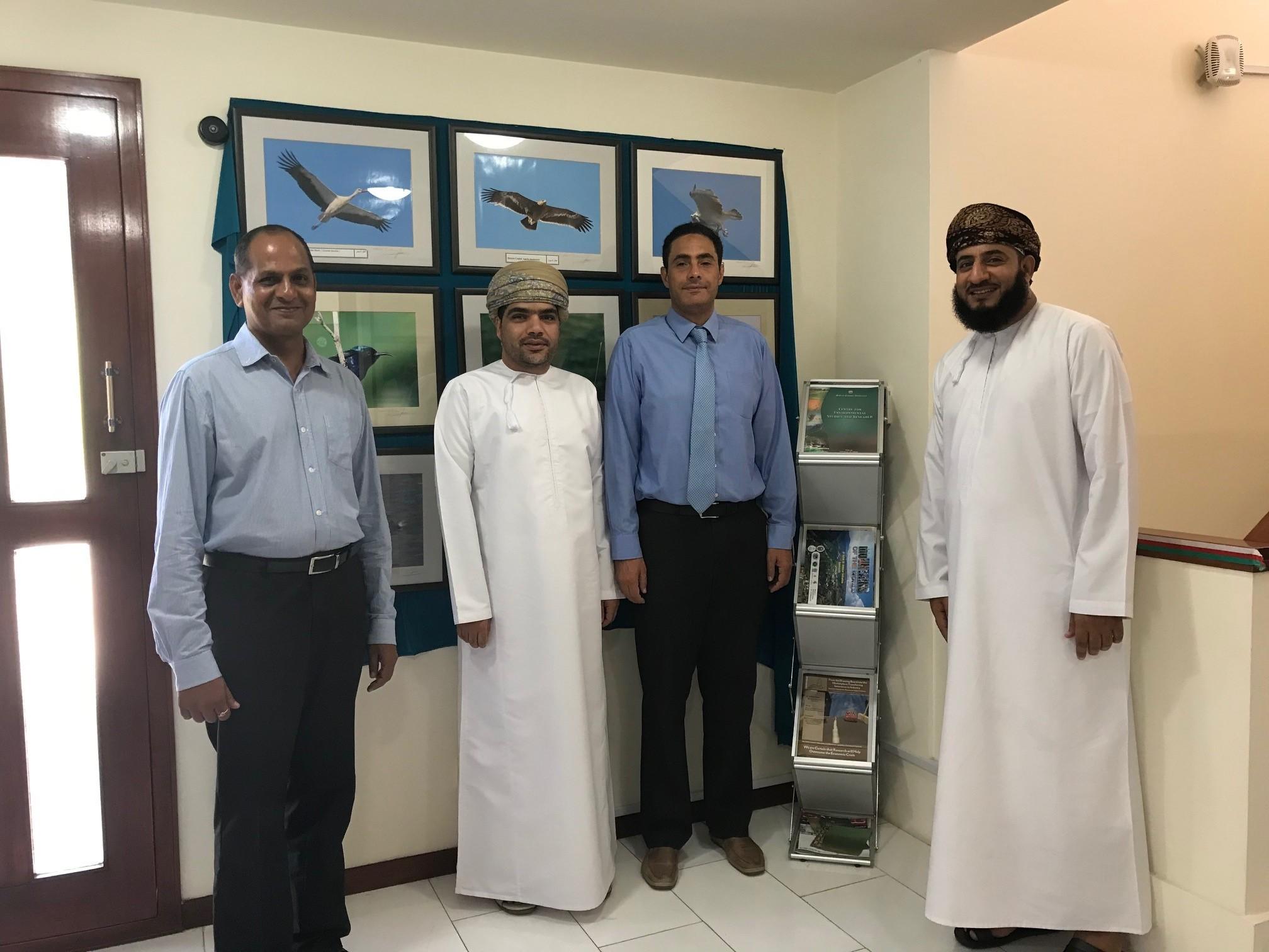 جامعة السلطان قابوس ووزارة البيئة والشؤون المناخية تشرعان في تنفيذ أولى المشاريع مع صندوق المناخ الأخضر
