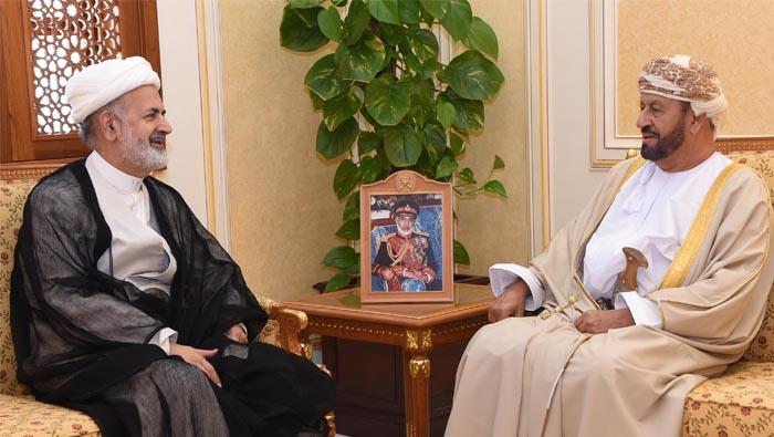 Defence Minister Sayyid Badr receives Iran, Spain ambassadors to Oman