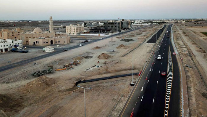 70 per cent of Al Khoud dual carriageway project will be completed by 2017 end