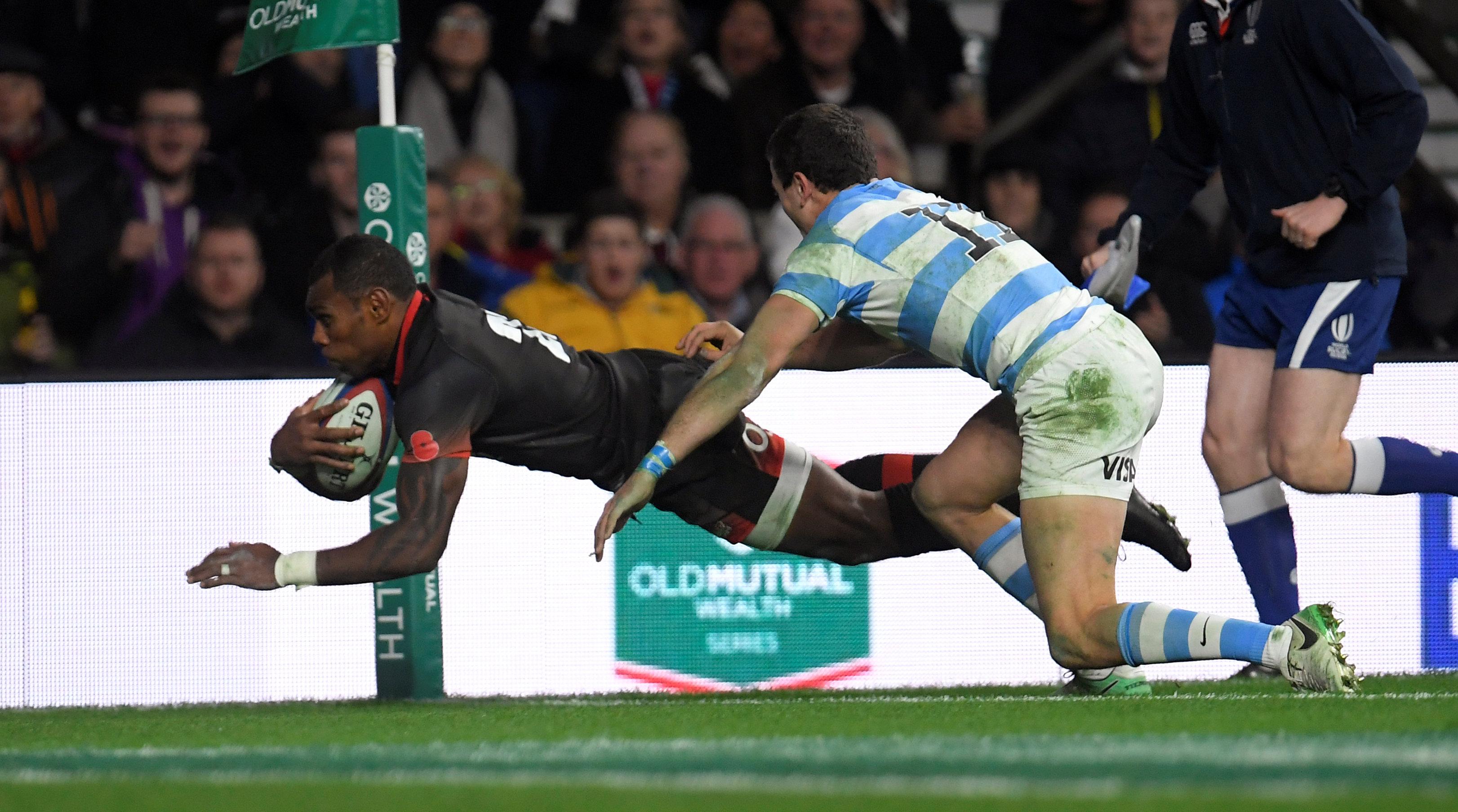 Rugby: Stuttering England beat Argentina at Twickenham