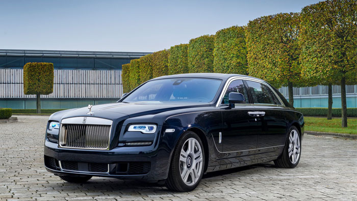 Rolls-Royce Motor Cars to unveil one-off bespoke 'Spirit Of Calligraphy' Ghost