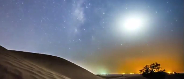 شاهد بالفيديو.. جماليات التصوير في الصحراء العمانية