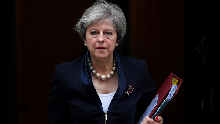 Weaker than ever, May faces test in UK parliament over Brexit plans