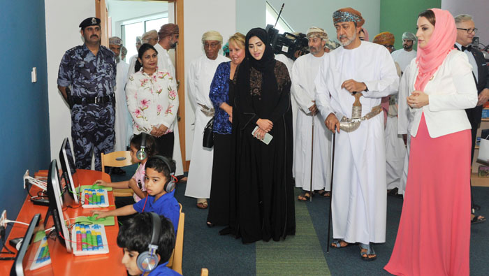 Oman's Minister of Heritage and Culture inaugurates children's library in Muscat