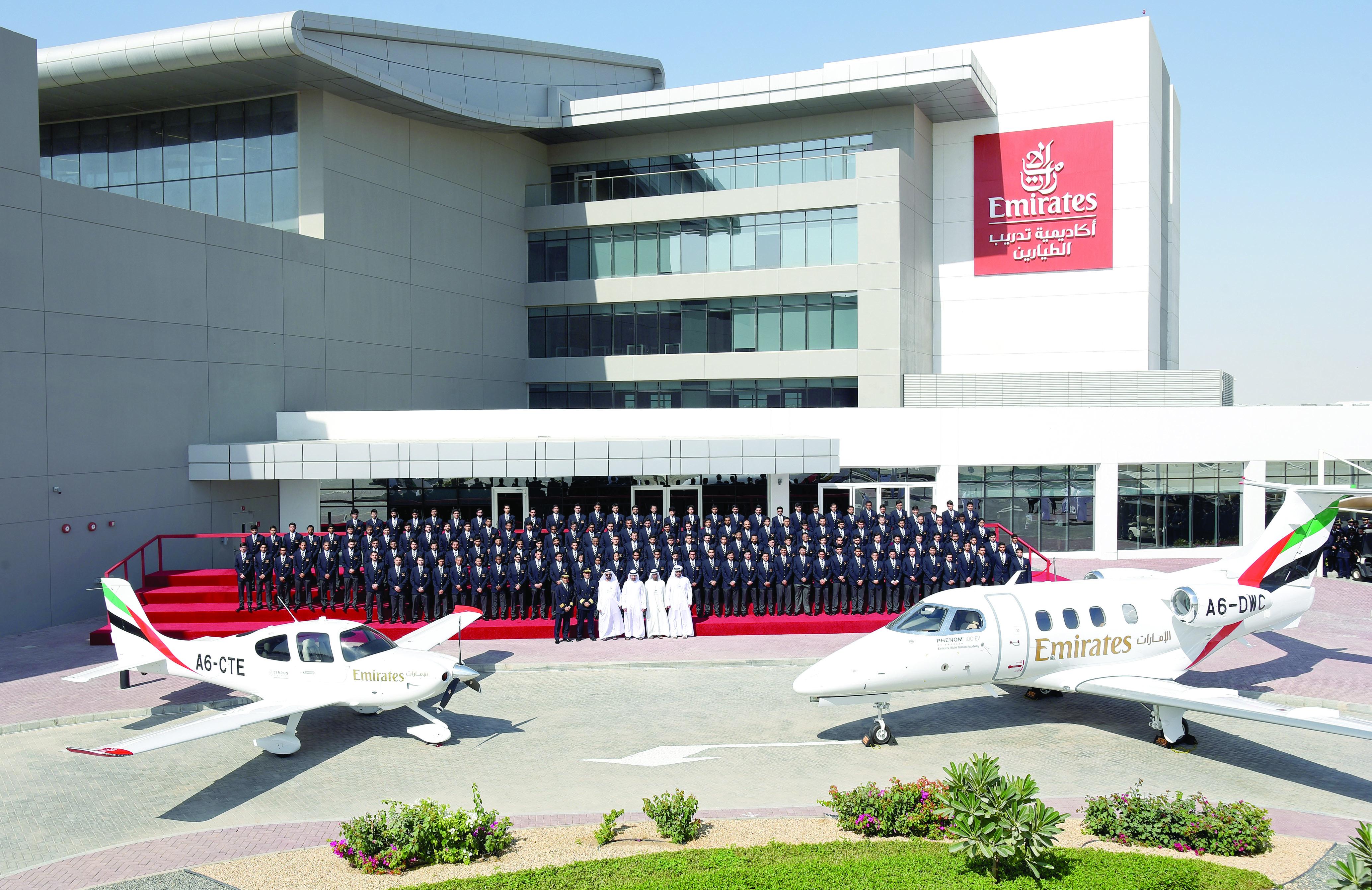 افتتاح أكاديمية الإمارات لتدريب الطيارين